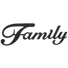 Family Black Metal Wall Word from Hobby Lobby ~ not exactly like mine, but close enough Family Wall Decor, Metal Wall Decor, Wall Decor Online, Word Families, Give Thanks, Wall Sculptures, Metal Walls, Hobby Lobby, Black Metal
