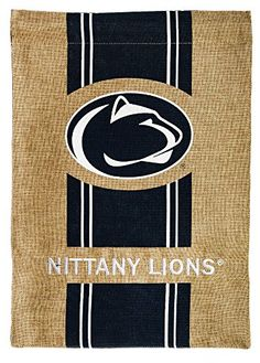 c8568a18e4349 Penn State Nittany Lions Official NCAA 12.5 inch x 18 inch Team Burlap  Garden Flag