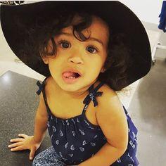 Chris Brown's daughter, Royalty
