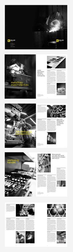 brochure / KELLER KIRCHBERG by simon spring