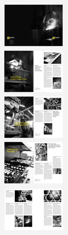 Layout Editorial Design - Keller