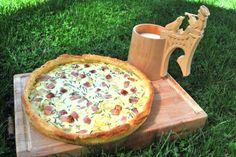 Slovenský bryndzový koláč - Recept pre každého kuchára, množstvo receptov pre pečenie a varenie. Recepty pre chutný život. Slovenské jedlá a medzinárodná kuchyňa