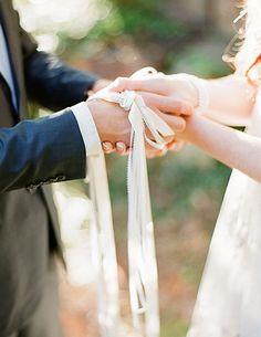 Irish Wedding Traditions Hand Fasting