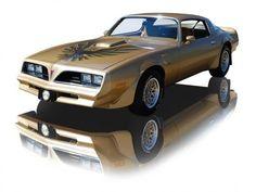 1978 Solar Gold Pontiac Firebird Trans Am 400 V8