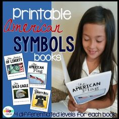 Printable books. Printable American Symbols Books. Each book has 4 different levels for easy differentiation in the classroom.