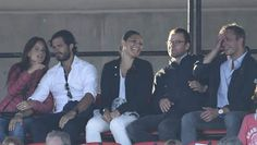 Queens & Princesses - Victoria, Daniel, Carl Philip and Sofia attended the concert of Roxette which was held in Kalmar.