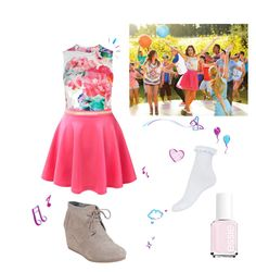Designer Clothes, Shoes & Bags for Women Violetta Outfits, Violetta Disney, Unique Outfits, Casual Outfits, Girl Outfits, Teen Girl Fashion, Cute Outfits For School, Disney Outfits, New Wardrobe
