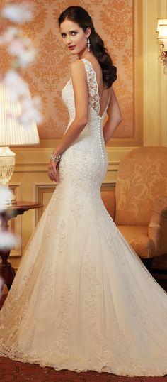 Classically elegant ~ Sophia Tolli Spring 2014 Bridal Collection | bellethemagazine.com