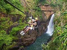 Canopy Tour Limpop - In Limpopo you can experience the thrill of a Canopy Tour in the Magoebaskloof. Here you will soar over the Groot Letaba River and majestic waterfalls. Adventure Activities, Adventure Tours, Fun Activities, Parc National Kruger, Canopy, Places To See, South Africa, Explore, Top Tours