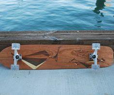 Wood Contest Skateboard