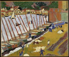 Le faubourg de Collioure Auteur : Derain André (1880-1954)