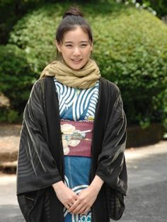 """Yu Aoi in the title role of """"Osen."""" Very good comedy/drama about Japanese food and culture!"""