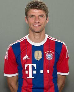 Thomas Müller - FC Bayern München Trikot #Fussball #Soccer #Bundesliga