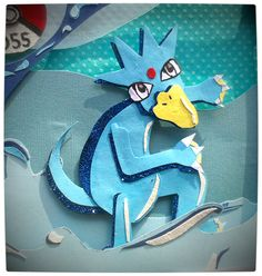 Vamers - Geekosphere - Artistry - 151 Artists Create Artworks of the first 151 Pokémon for Charity - Golduck