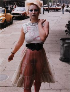 Jordan aka Punk Goddess Pamela Rooke and Sex; Malcolm McLaren and Vivienne Westwood's Kings Rd boutique Vivienne Westwood, Photo Rock, 70s Punk, 1980s Punk Fashion, Modern Punk Fashion, 80s Goth, Lolita Fashion, Emo Fashion, Gothic Fashion