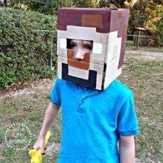 Disfraz fácil y sencillo de Minecraft para niños #Kids #Costume
