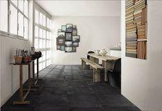 Beautiful space (grey floor) http://www.archiexpo.es/fabricante-arquitectura-design/baldosa-gres-porcelanico-797.html