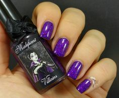 Esmaltes da Kelly - Maleficent over Essie - Under the Twilight (Lightbox)
