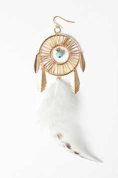 dreamcatcher earring $21