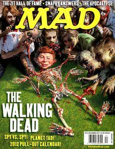 The Walking Dead.  MAD magazine