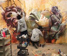 Studio work by Pichi Avo in Spain.