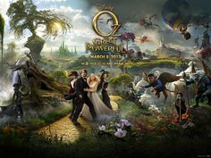 **DISNEY'S--OZ the GREAT & POWERFUL ITUNES or VUDU CODE--EARLY RELEASE/PREORDER   Go to Listia.com...earn credits then use those credits to bid on and win this auction!! IT'S FREE!!