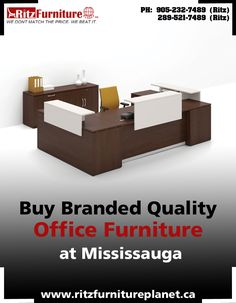 At reasonable Prices buy #Office #Furniture in #Mississauga we have all range of furniture if you are interested then call: 905-232-7489, 289-521-7489