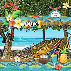 GingerScraps :: Kits :: Tropical Aloha by Clever Monkey Graphics
