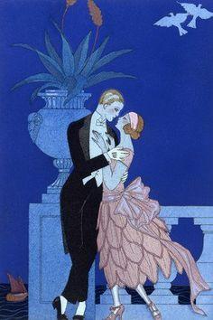 Oui!, by George Barbier (1882-1932)