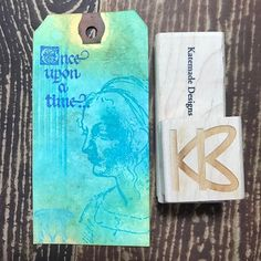 Another Kate made design When you should be cleaning but there is a background tag on your craft table and @stampington Stamps are calling you. #pro-crafting-nation #ILoveStamps #Crafty #Tags #DistressOxideInks