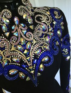 Western Show Shirts, Western Show Clothes, Horse Show Clothes, Riding Clothes, Western Outfits, Show Jackets, Girls Gymnastics Leotards, Western Pleasure, Ballroom Dress