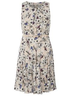 Designer Clothes, Shoes & Bags for Women White Sleeveless Dress, White Dress, Butterfly Print Dress, White Butterfly, Monarch Butterfly, Viscose Dress, Dress Brands, New Outfits, Fashion Dresses