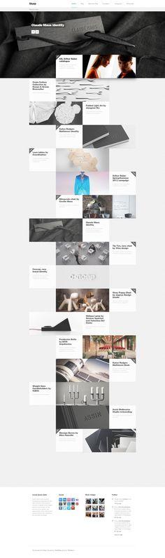 DCafeIn 웹사이트테마 - Slurp Minimal Portfolio Theme