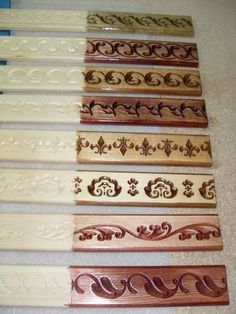 Carpentry Projects, Cnc Projects, Dremel Wood Carving, Wood Carving Designs, Wood Front Doors, Cnc Woodworking, Diy Cnc, Wood Trim, Boarders
