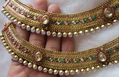 Kerala Jewellery, Toe Rings, Anklets, Traditional, Bride, Sorority, Bracelets, Silver, Gold
