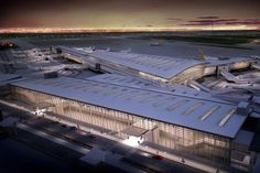 Calgary International Airport by AECOM nearly complete