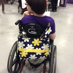 This young woman is ready for Spring with her Premier Daisy bag! (2015 NY/NJ Abilities Expo)
