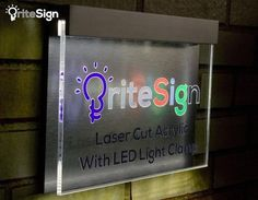 f2d632fd6f78 Unique LED Acrylic Designer Address Plaque - Design Your Sign Option | –  The Acrylic Master