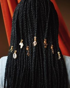 """Natural Hair Loves, LLC on Instagram: """"Follow @kpelle.designs for HandmadeHair  Jewelry for Braids, Twists, and Locs. Use coupon code: KPELLEBF for 30% offyour entire purchase.…"""" Hair Jewelry For Braids, Loc Jewelry, Hair Jewels, Silverware Jewelry, African Girls Hairstyles, Black Women Hairstyles, Braid Accessories, Hype Hair, Hair Decorations"""