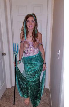 pirate and mermaid halloween costume