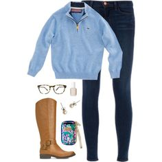 vineyard vines pullover, created by classically-preppy on Polyvore