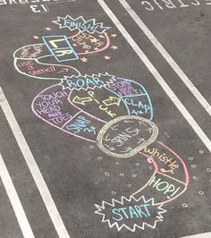 7 Outdoor Chalk Ideas for Spring and Summer Chalk Art Chalk chalk art sidewalk Ideas Outdoor Spring Summer