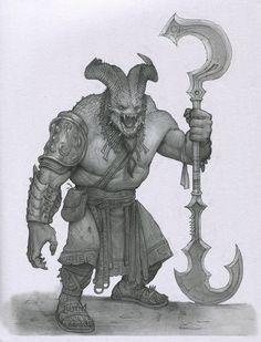 Demon Butcher by Mavros-Thanatos on DeviantArt