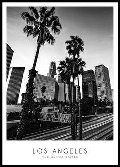 Los Angeles Julisteet ryhmässä Julisteet  / Koot / 30x40 cm @ Desenio AB (8916)