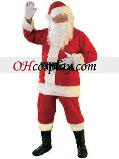 Santa Claus Suit Christmas Cosplay Costume
