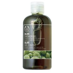 The Olive Oil shower gel from the Body Shop smells awesome and doesn't dry out your skin. Great scent for both men and women.