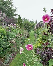 Vermont country garden