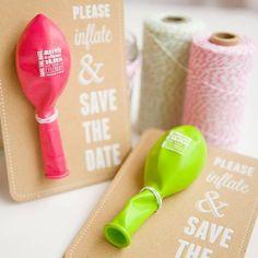 Ideias para Save the Date