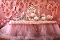 Mesa de festa tema bailarina