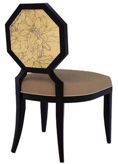 Model room hotel clubs new Chinese New Oriental neoclassical custom furniture meticulous daisy single chair fabric chairs(China (Mainland))